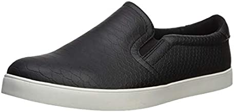 Dr. Scholl's Shoes Women's Python Fashion Sneaker, Black, 9