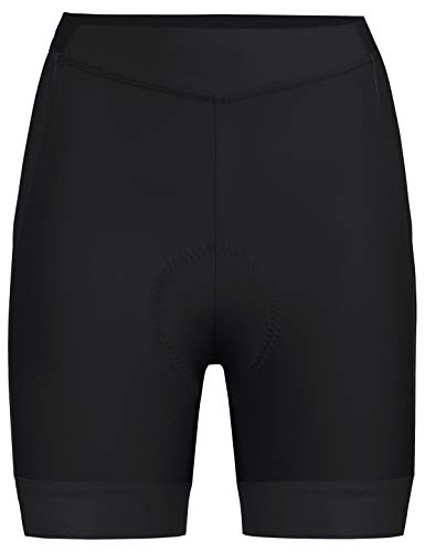 VAUDE Damen Advanced Shorts III Radhose mit funktionellem Sitzpolster, black, 34, 413670100340