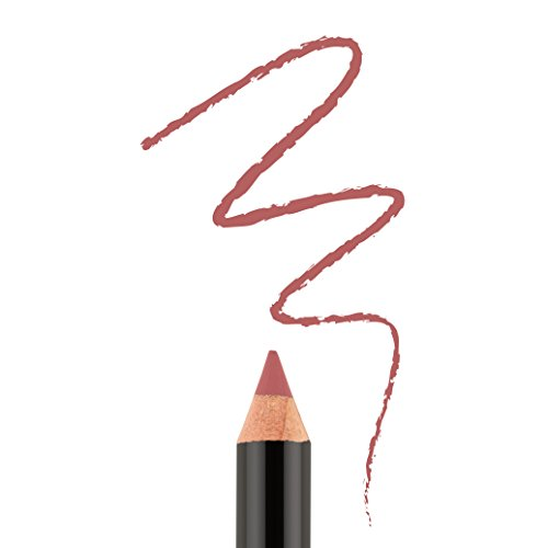 Bodyography Cream Lip Pencil (Heatherberry): Rose Nude Waterproof & Pigment-Rich Salon Makeup w/ Coconut Oil, Vitamin E | Gluten-Free, Cruelty-Free, Paraben-Free Bodyography Moisturizing Lip Gloss