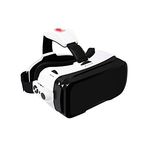 HDCDKKOU VR Virtual Realidad Gafas 3D Gafas, Gafas de Realidad Virtual Universal para Niños y Adultos - Tus Mejores Juegos Móviles 360 Películas