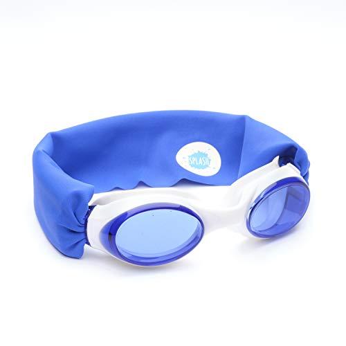 Gafas de natación Splash Royal – Divertidas y cómodas a la Moda – Se Adapta a niños y Adultos – no Tira de tu Cabello – fácil de Usar – Lentes antiniebla de Alta Visibilidad – Pendiente de Patente