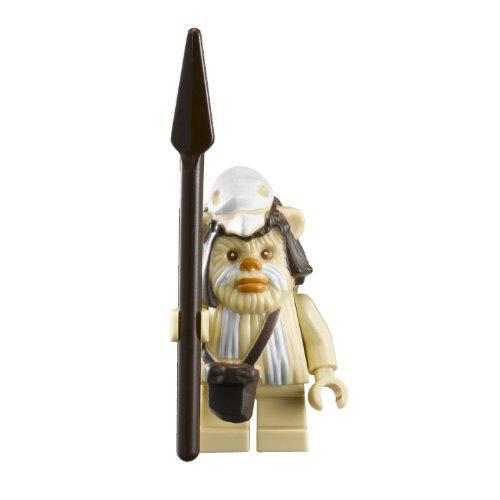 LEGO STAR WARS - Minifigur EWOK Logray - TRIBAL SHAMAN mit Speer