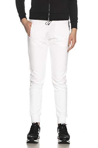 Colmar Pantalone Tuta Originals da Uomo Bianco