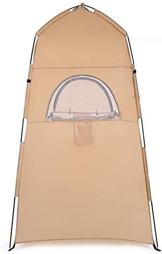 Tienda de Campaña para Inodoro Plegable Libre del estallido de tiendas de campaña, Ducha Privacidad WC portátil tienda de la playa Cambio...