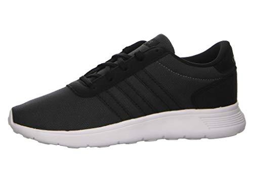adidas LITE Racer K Walking-Schuh, CBLACK/CBLACK/GRESIX, 37 1/3 EU