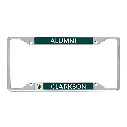 Desert Cactus Clarkson University Golden Knights NCAA Metal License Plate Frame for Front or Back of Car Officially Licensed (Alumni)