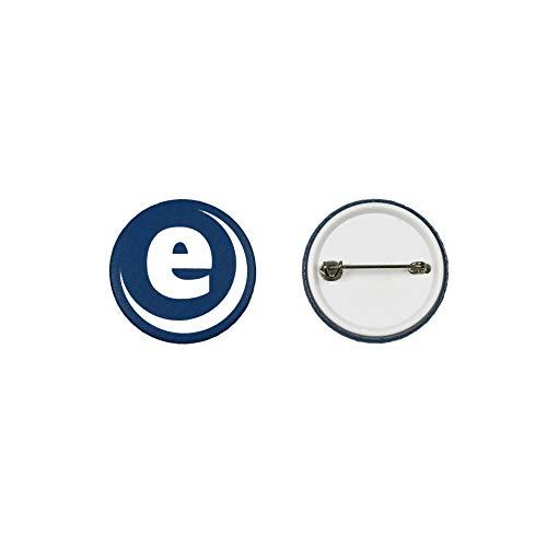 Enterprise Products - Set de piezas para hacer 250 chapas con trasera de seguridad - 38mm