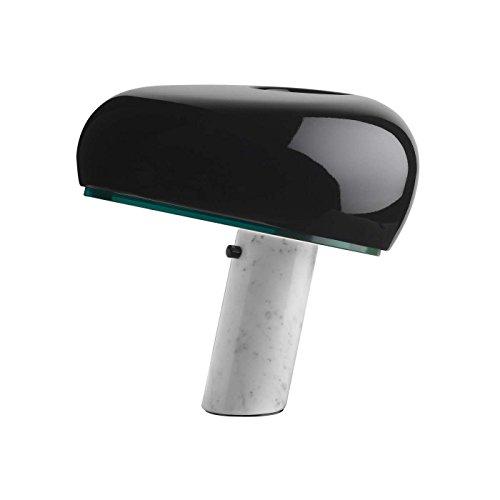 Flos Snoopy Tischlampe schwarz F6380030 von Achille und Pier Giacomo Castiglioni