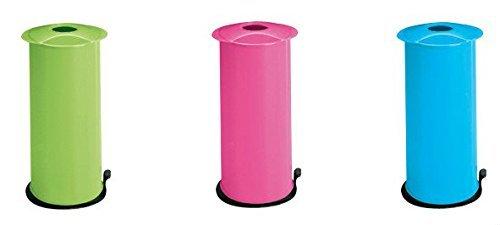 Meliconi 651005 - trituradora de botellas y latas (Bottles/cans, Negro, Azul, Verde, Rosa, De plástico, 270 mm, 145 mm, 2.8 kg)