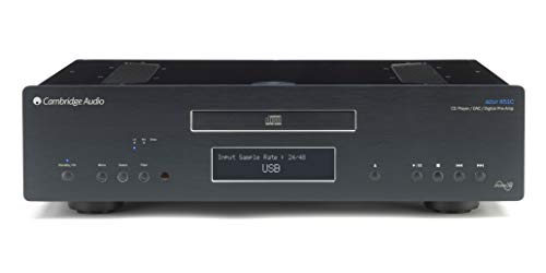 Cambridge Audio Azur 851 - Lettore CD per apparecchiature audio portatili, nero