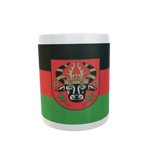 U24 Tasse Kaffeebecher Mug Cup Flagge Parchim