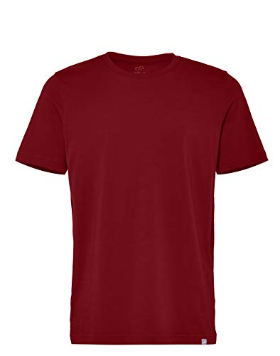 CARE OF by PUMA Herren-T-Shirt aus Baumwolle mit Rundhalsausschnitt, Rot (Red), M, Label: M