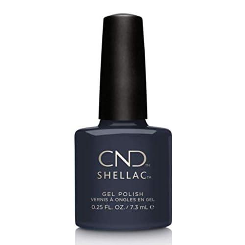 CND - Shellac, Smalto per unghie UV, Indigo Frock, 7 ml