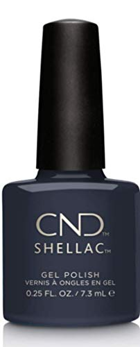 CND Shellac Indigo Frock, 1er Pack (1 x 7 ml)