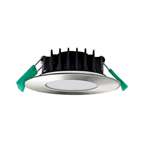 ALUX Dimmable 8W LED Decken-Downlights Einbauleuchten Warm Cool White Lichtfarbe einstellbar 3000K 4000K 5700K 220V-240V Lochdurchmesser 94MM IP44 Feuchtigkeitsbeständige 6er Lampen