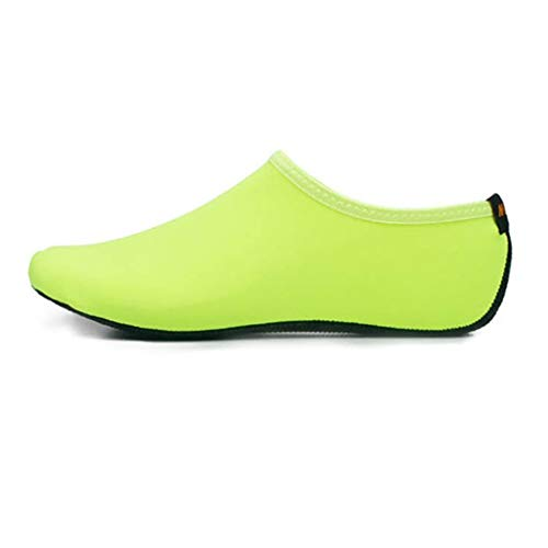 Rtengtunn Erwachsene Paare Strandtauchen Schnorcheln Aqua Socken Helle einfarbige Pool Schwimmen Schnelltrocknen Barfuß Surfen Slip-On Wasserschuhe - D - M