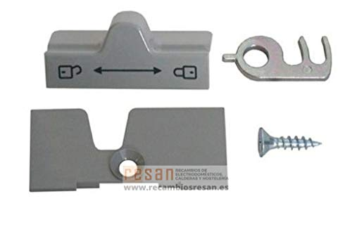 Chiusura per porta completa grigia per frigorifero Dometic – 2412757300