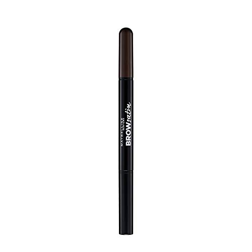 Maybelline New York Augenbrauenstift und -puder, Brow Satin Duo, Nr. 05 Black Brown