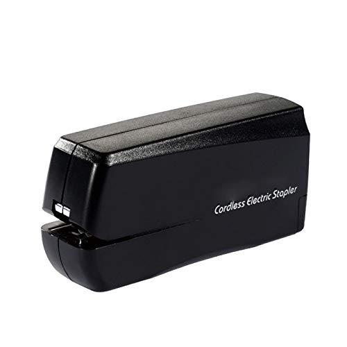 ZZWBOX Grapadora eléctrica automática, Grapadora eléctrica de batería, Mini Grapadora eléctrica, detección...