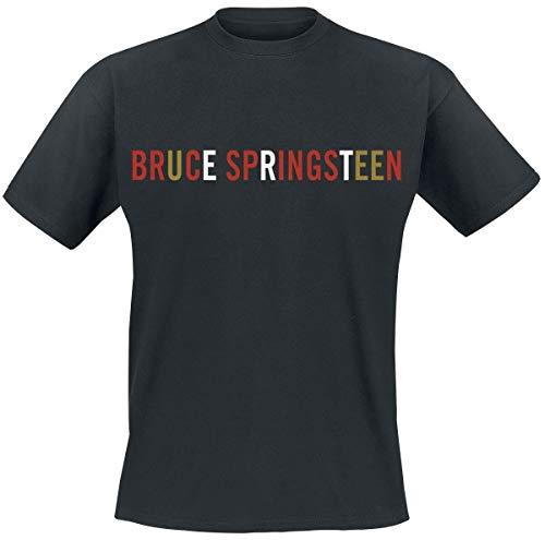 Bruce Springsteen Logo T-Shirt schwarz XL