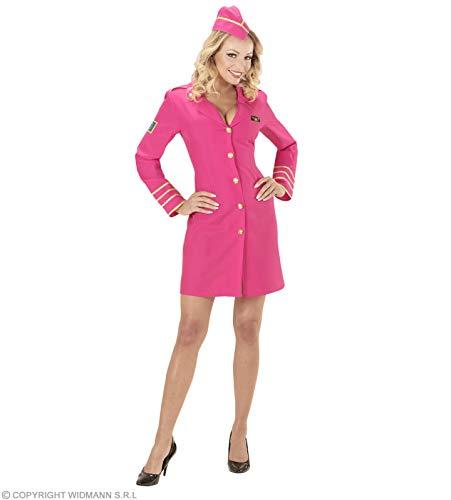 Widmann wdm44633–Kostüm Stewardess, Pink, Large