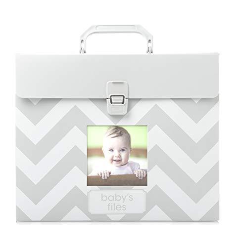 Tiny Ideas Baby File Keeper, Gray