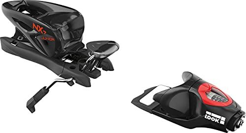 LOOK NX Jr 7 Ski-Bindung, Kinder, Größe 73 mm, Black Icon