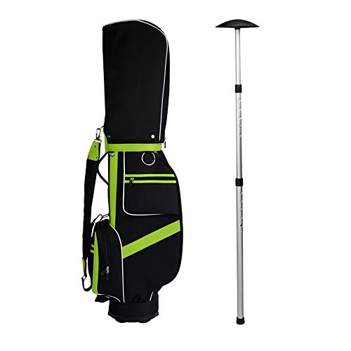 Best Buy! JHHXW Golf Bag Support Rod, Support and Protection Club, Retractable, Bag Support Frame to...