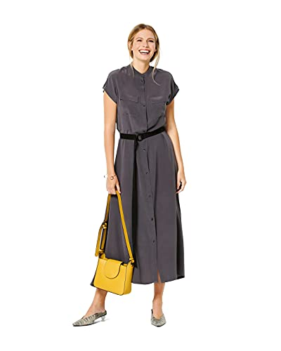 Burda Schnittmuster, 6240, Maxi-Kleider selber nähen [Damen, Gr. 34-44] Level 3 für Fortgeschrittene