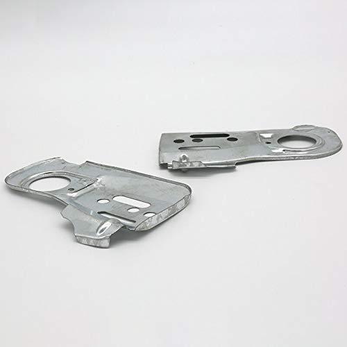 2 placas de barra guía de cadena para Husqvarna 445 450 445E 450E motosierra 544094001 Craftsman 358382000 Cubierta interior protectora