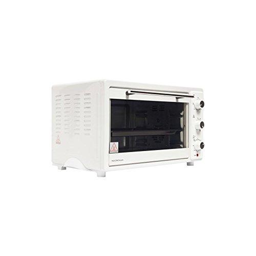 Tecnolux - Mini-ofen-33 l 1600w wit/rostfreier stahl - GT33RC01
