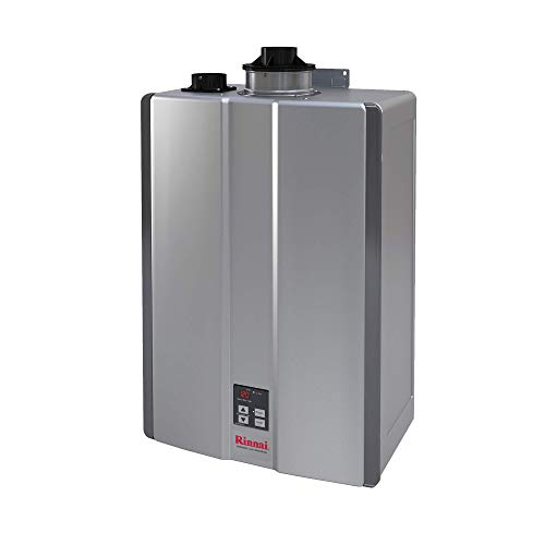 Rinnai RUR Series Sensei SE+ Tankless Hot Water Heater: Indoor Installation - RUR199iN, Natural Gas/11 GPM