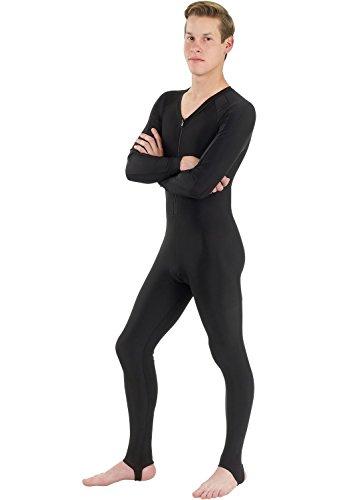 Phantom Aquatics - Muta seconda Pelle Intera, Unisex, in Lycra, Unisex, Lycra Full Suit Dive Skin Wetsuit, Black, XS