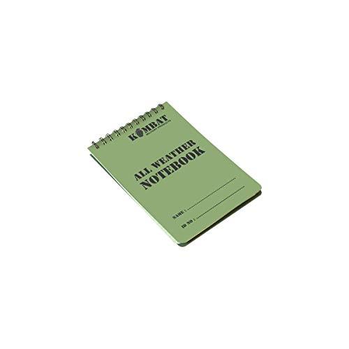Kombat UK A6 Waterproof Notepad