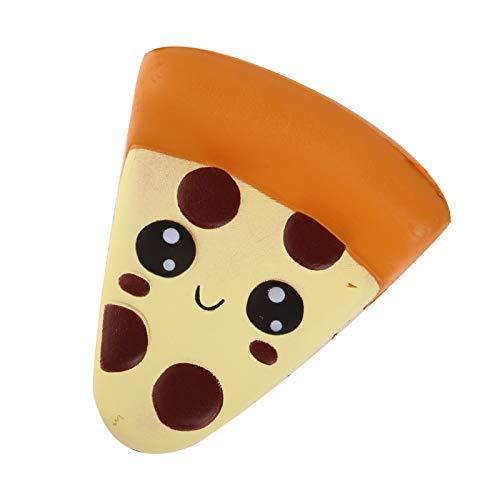 ANBOOR 3.9 'Squishies Pizza Kawaii Soft Slow Rising Profumato Cibo Squishies Riduzione di Stress Giocattoli per Bambini Collezione Regalo