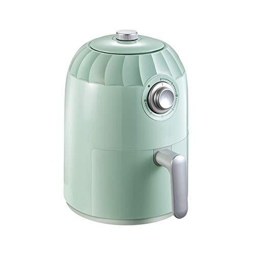 Líder Freidora de aire eléctrico + Cocina de horno con control de temperatura, Cesta de freír sin paletas, Freidora de aire 2L Fryers eléctrico de aire caliente OVEN OILLESS OILLESS CALANTE, CESTACIÓN