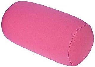 Aigend Almohada - Micro Mini Microperlas Cojín de Espalda Rollo Almohada Viaje Hogar Dormir Soporte para el Cuello Cómodo(Rosado)