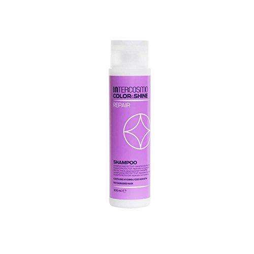 INTERCOSMO Color&Shine REPAIR Champú Reparador Protector con Queratina 300 ml [ 8007376018488 ]