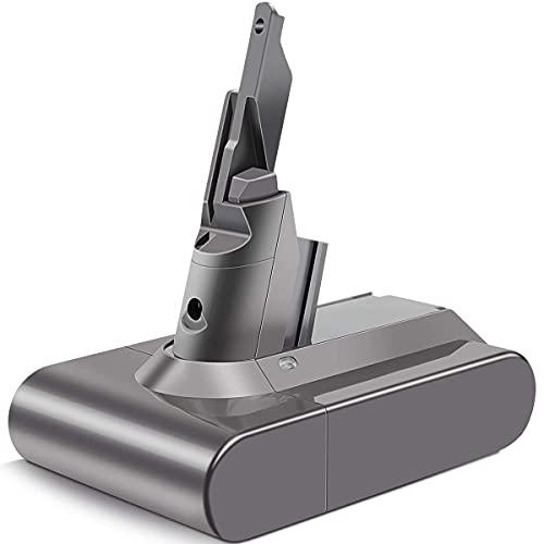 DTK Batería para Dyson V7 SV11 Animal Fluffy Trigger Trigger+ Extra Motorhead Pro Mattress Cord-Free Aspiradora 21.6V 4000mAh