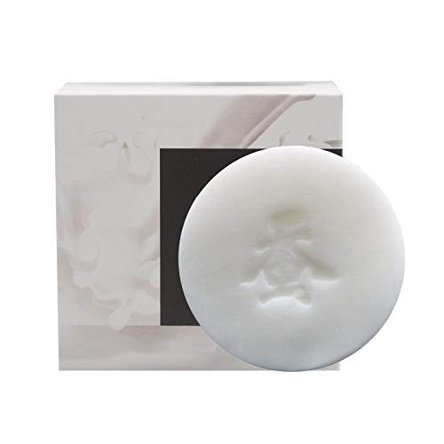 YUY Jabón Leche Cabra Seda Pin Up Espuma Seda Natural Mejor Lavado Control Aceite Baño Eliminar ácaros Espinillas Espinillas Acné Cuidado Facial Base De Lavado Jabón para Unisex