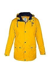MADSea men's rain jacket Friesennerz yellow