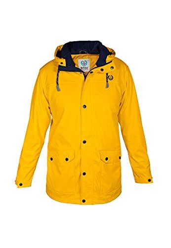 MADSea Herren Regenjacke Friesennerz Gelb, Farbe:gelb, Größe:XL