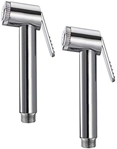 SKS Logger Conti Health Faucet PVC Chrome Plated Set of 2 SKS 0138
