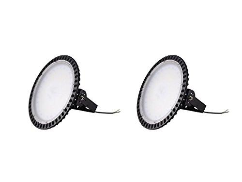 Yuanline LED Projecteur UFO ultra-mince Lampe Industriel LED Extérieur Spot Phare de Travail 300W pour extérieur stade intérieur place panneaux d'affichage usine entrepôt etc. (2)
