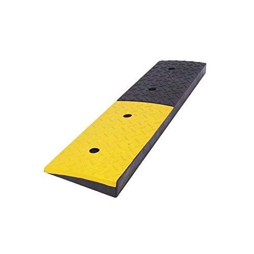 Almohadilla de umbral de entrada del centro comercial, rampas de servicio resistentes Antideslizante Taller de taller de reparación Altura de la almohadilla de triángulo: 4-9 cm ( Size : 98.5*25*9CM )
