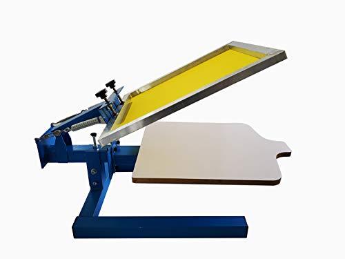 Impresión de pantalla de prensa de 1 color 1 estación de impresión de pantalla de la máquina de impresión de la pantalla de la máquina de impresión de la prensa