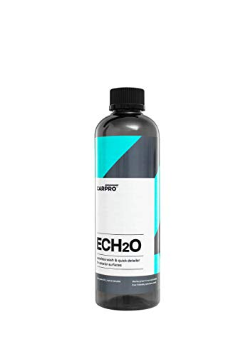 CarPro ECH2O Waterless Wash, High Gloss Detail Spray, Rinse-Less Wash, and Clay Lubricant Concentrate 500 ml