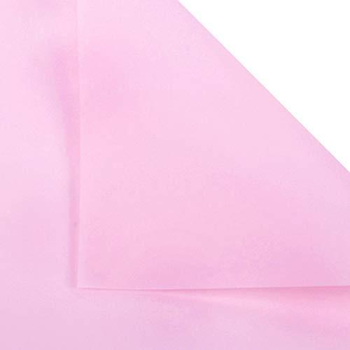 Yun-hangbaihuodian 20Pcs Blumen Zweifarbiges Papierverpackungen Geschenkverpackung Neutral Farbe Florist Einwickelpapier Blumenstrauß Supplies (Color : Pink)