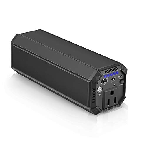 Portable Laptop Charger 31200mAh/116Wh, 100W AC Outlet Power Bank Externel Laptop Battery Pack for Phone, MacBook, Dell, Acer, Samsung, Notebook, Laptops (Black)
