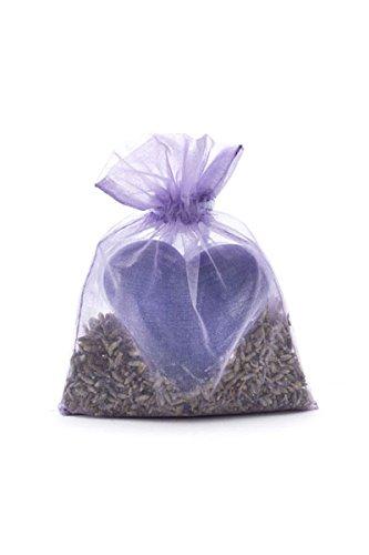 Haslinger 2660 Parfum lavande Sac Coeur Savon avec fleurs